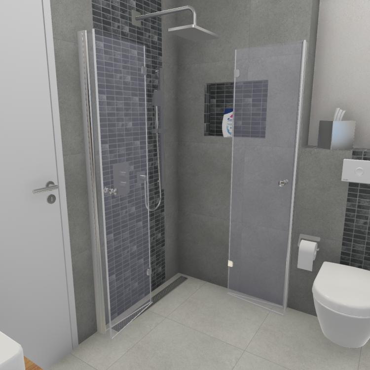 barrierefreie Duschanlage